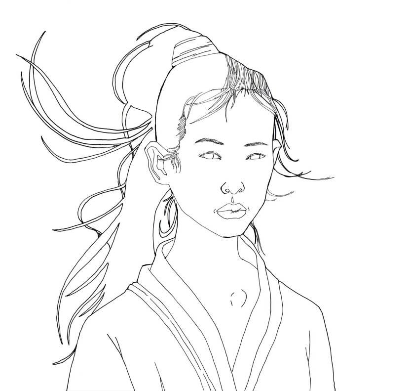 Illustration 34 of 365 - China girl