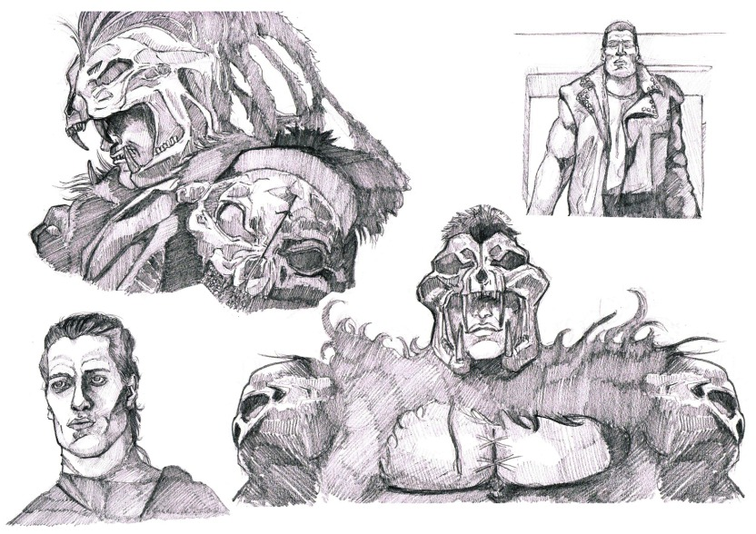 Kurgan character study.